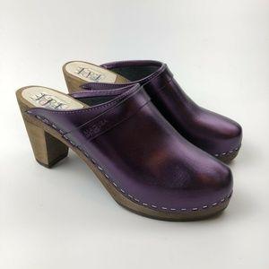 Maguba Stockholm Clogs Plum 40 9.5 US Mule Shoes